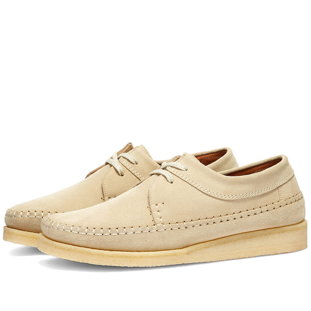 Padmore & Barnes M387 Willow - Sand Suede