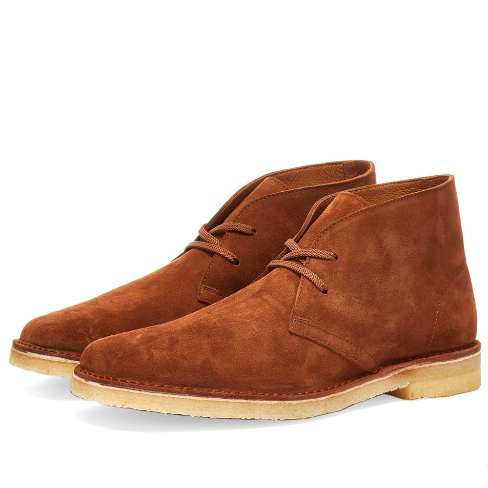 Padmore & Barnes P249 Galway Boot - Snuff Suede