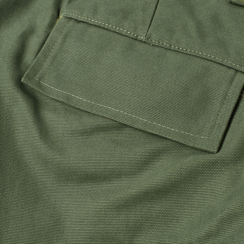 Reese Cooper Brushed Cotton Canvas Cargo Pant - Sage