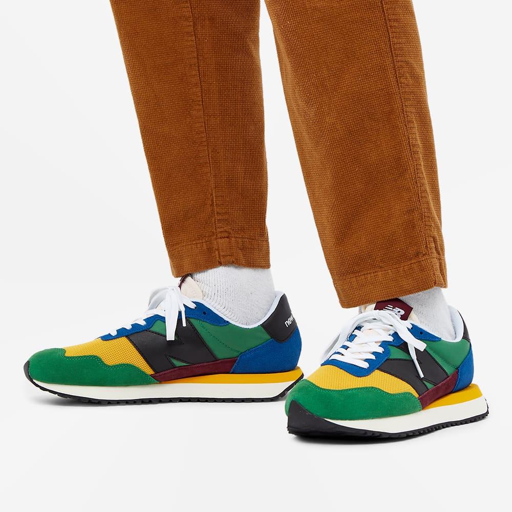 New Balance MS237LB1 - Green & Yellow