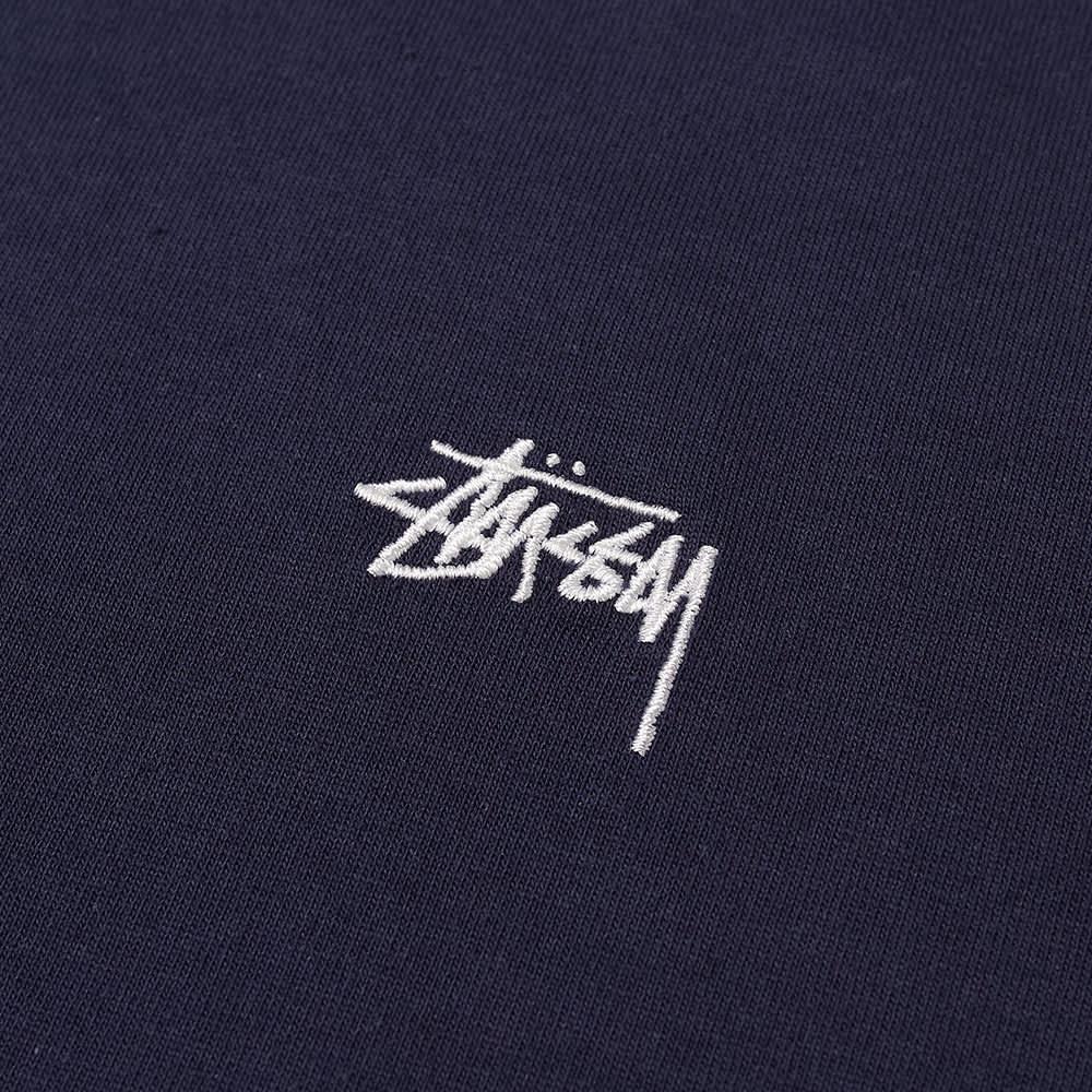 Stussy Stock Logo Tee - Navy
