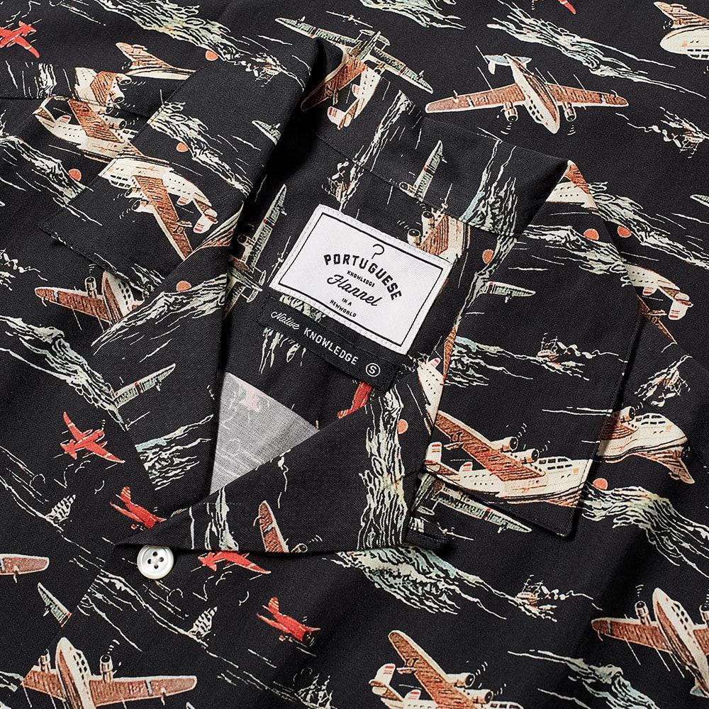 Portuguese Flannel Vintage Aeronautic Vacation Shirt - Multi
