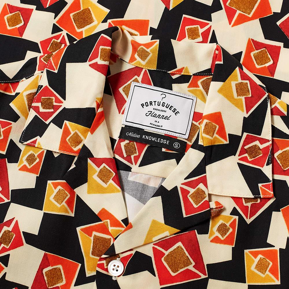 Portuguese Flannel Cubismo Vacation Shirt - Multi
