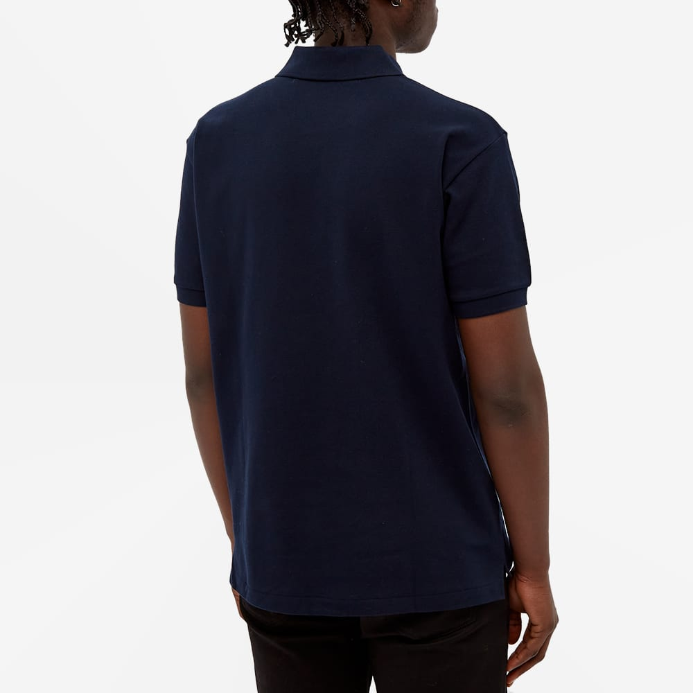 Comme des Garcons Play Little Black Heart Polo - Navy