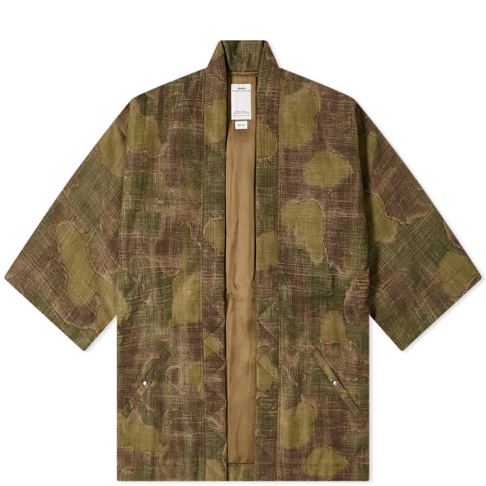 Visvim Sanjuro Kimono Jacket - Camo
