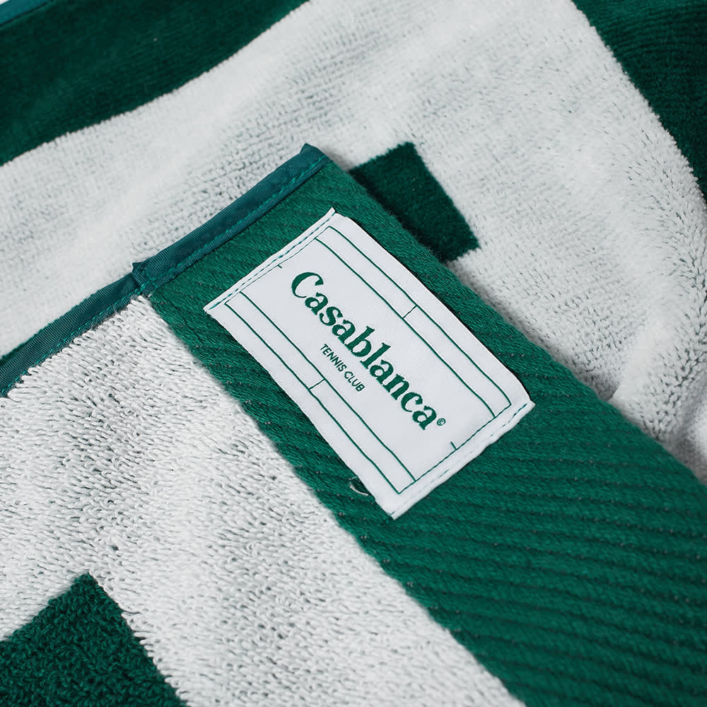 Casablanca Beach Towel - Dark Green