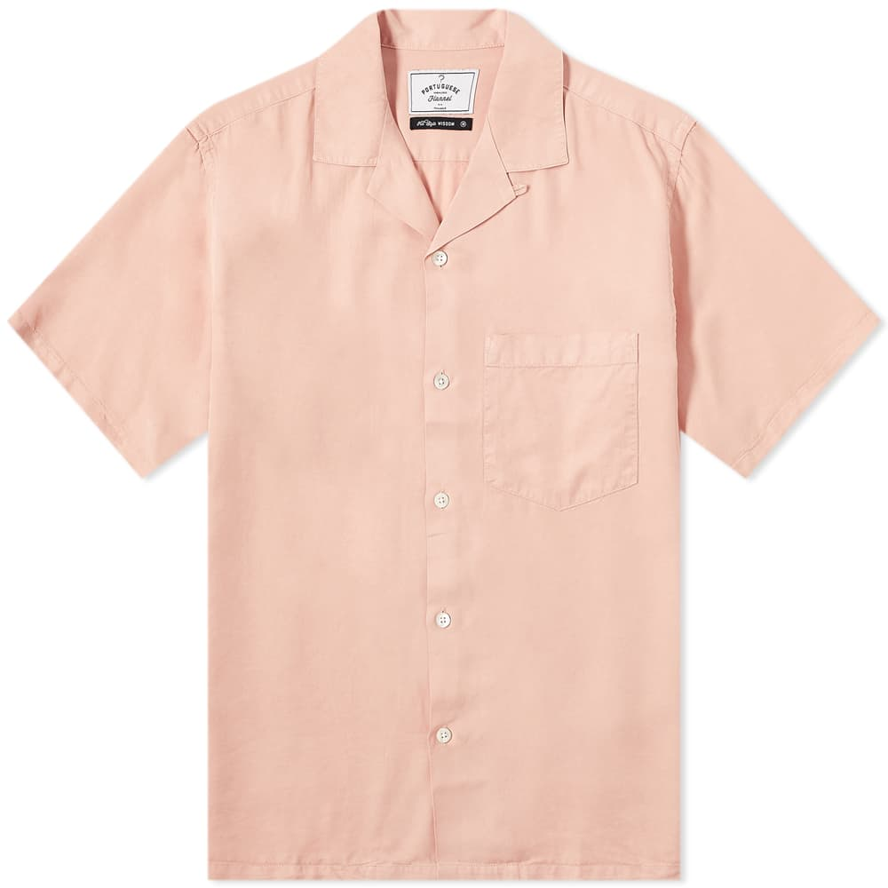 Portuguese Flannel Dogtown Vacation Shirt - Rose