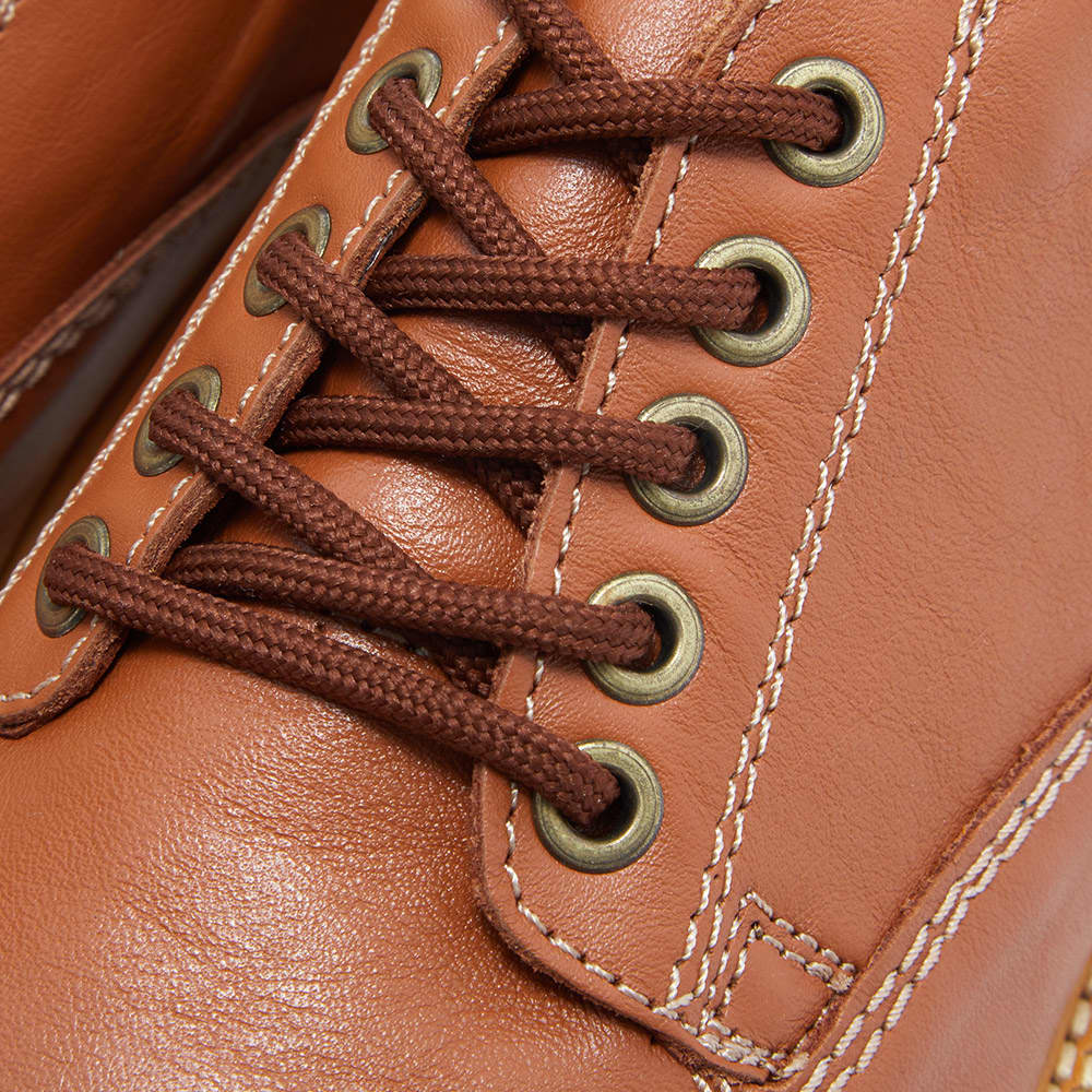 Wild Bunch Classic 5 Eyelet Shoe - Tan Leather
