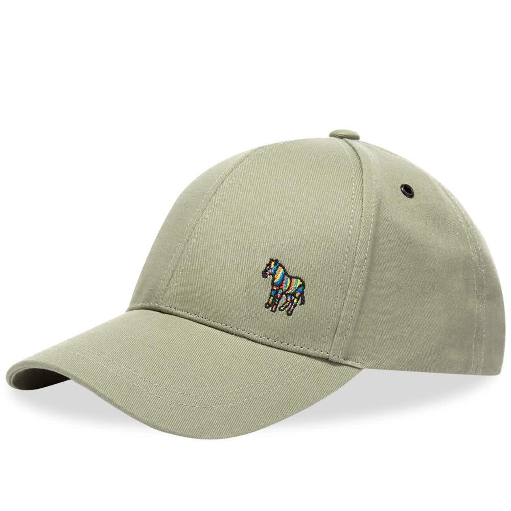 Paul Smith Zebra Logo Cap - Military Green