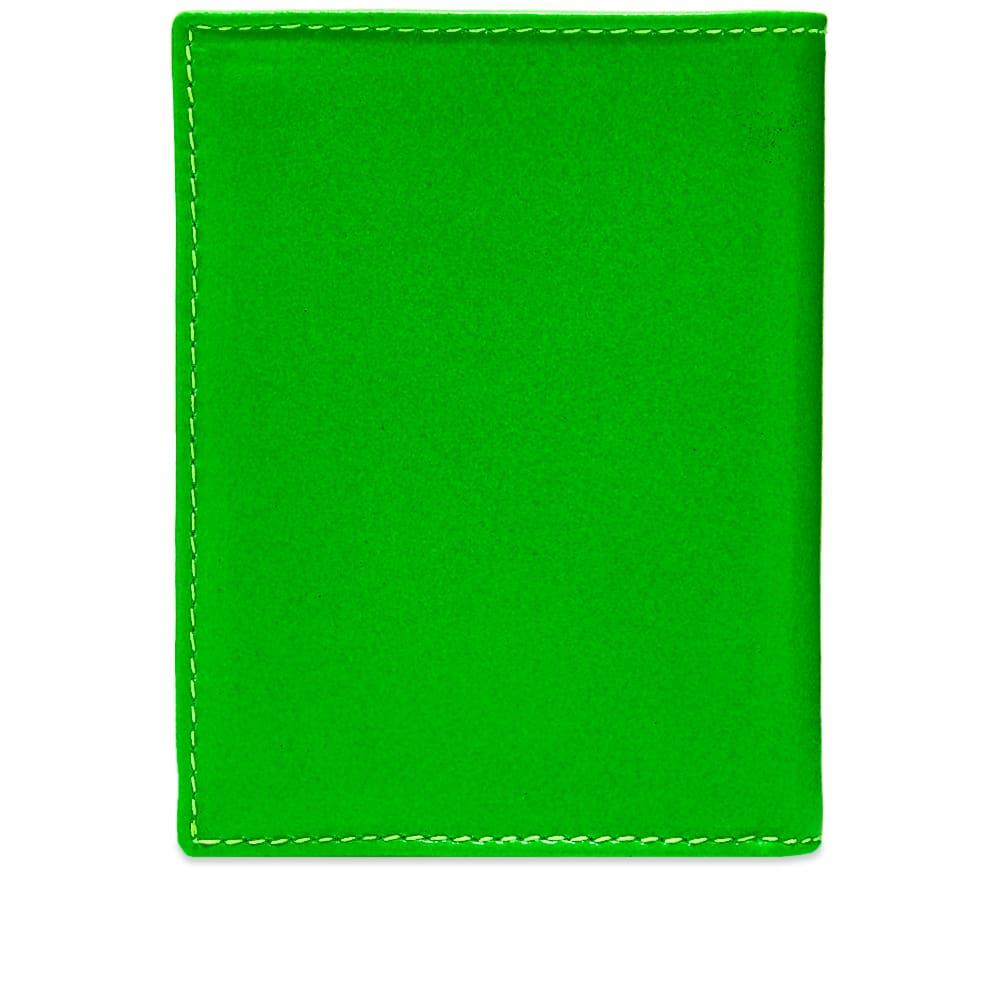 Comme des Garcons Sa0641 Super Fluo Wallet - Green