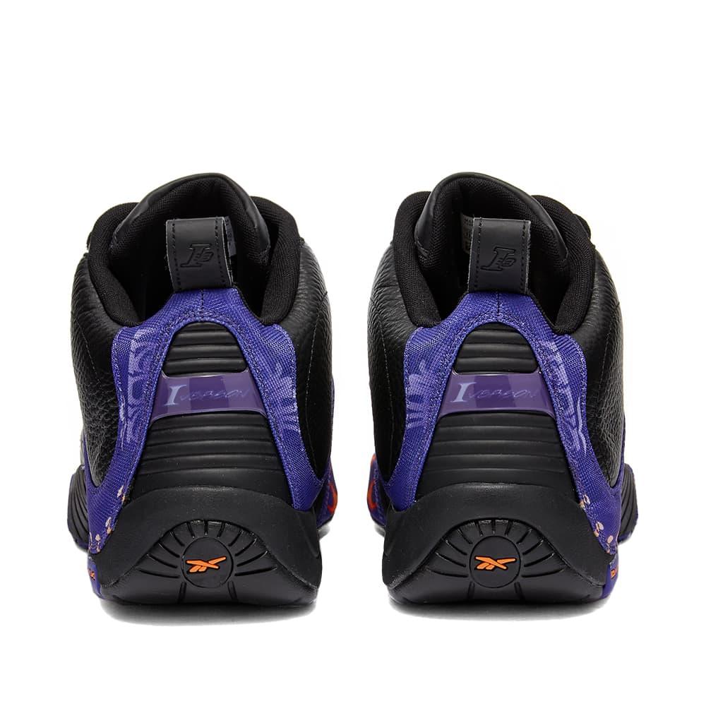 Reebok Answer IV - Black, Purple & Red