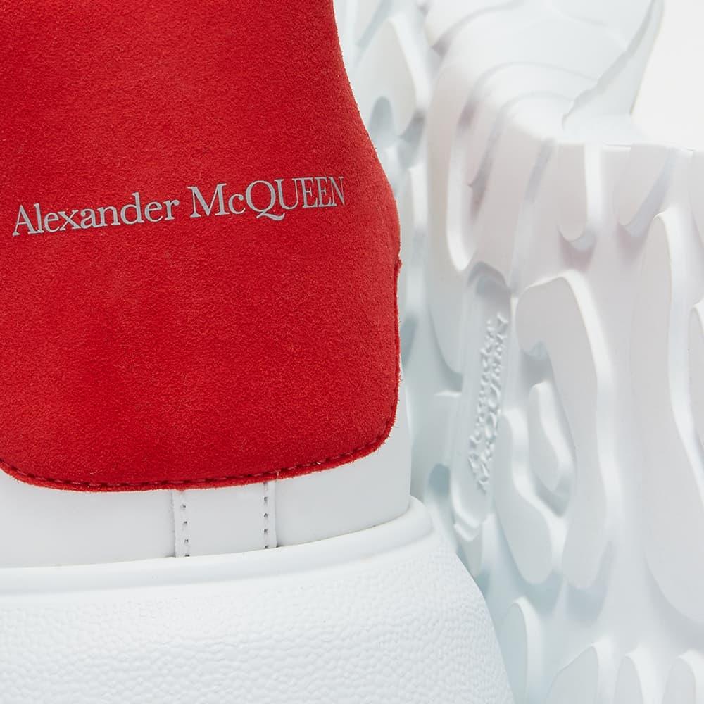 Alexander McQueen Court Trainer - White & Lust Red