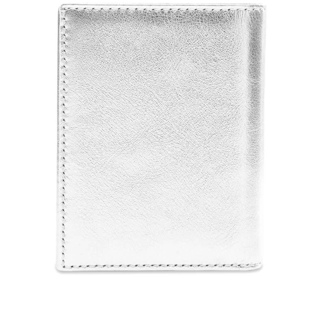 Comme des Garcons Sa0641G Classic Wallet - Silver