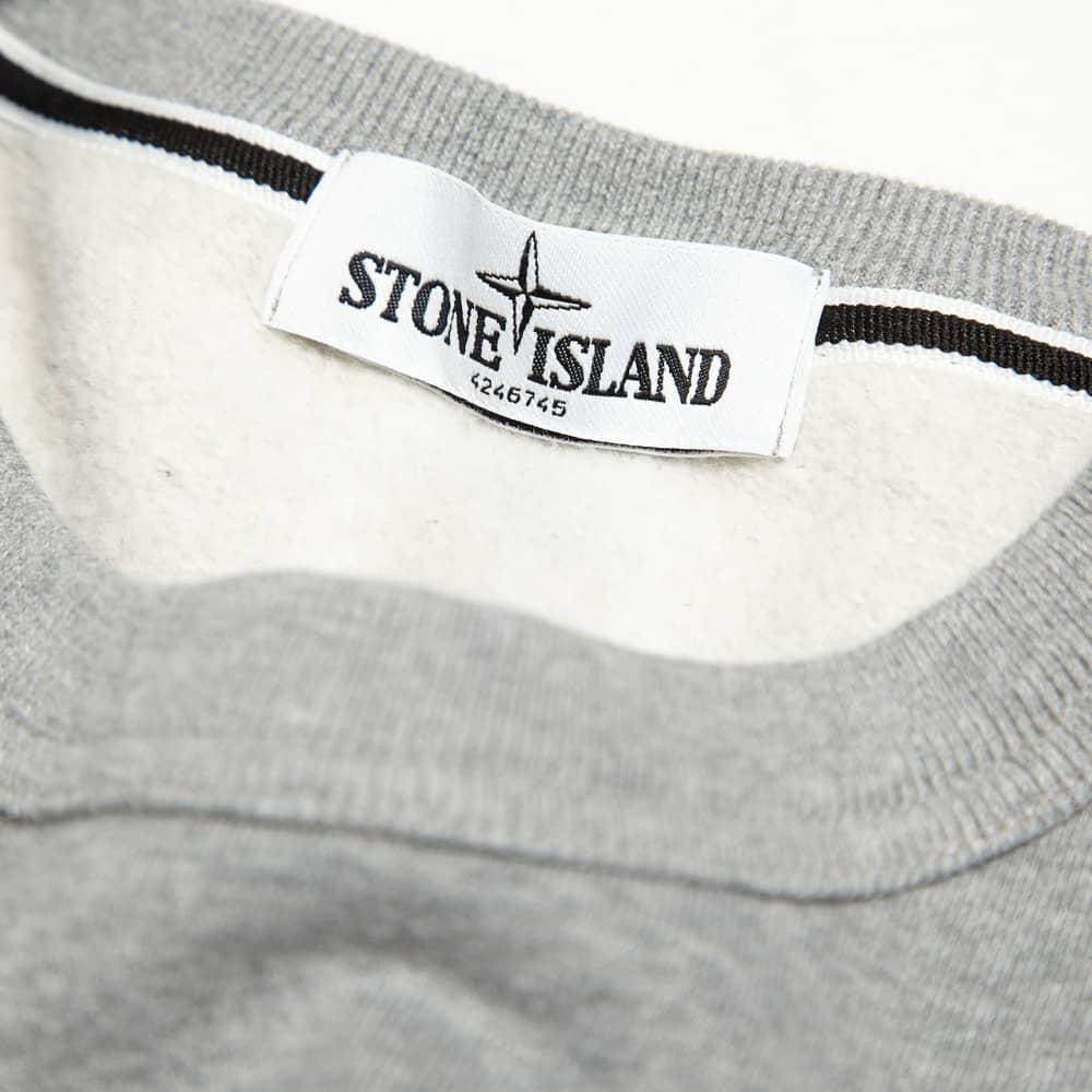 Stone Island Jersey Crew - Grey Marl