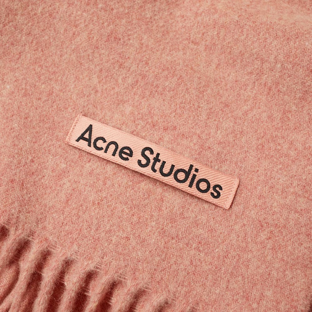 Acne Studios Canada New Scarf - Rose Melange