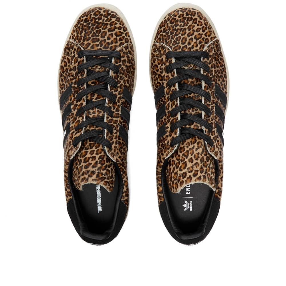 END. x Adidas x Neighborhood Campus - Leopard & Black