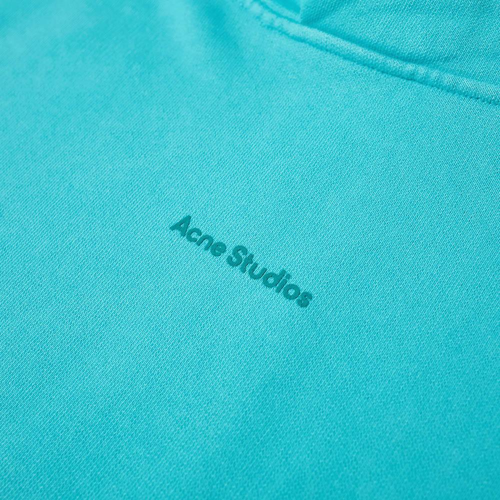 Acne Studios Franklin Stamp Hoody - Jade Green