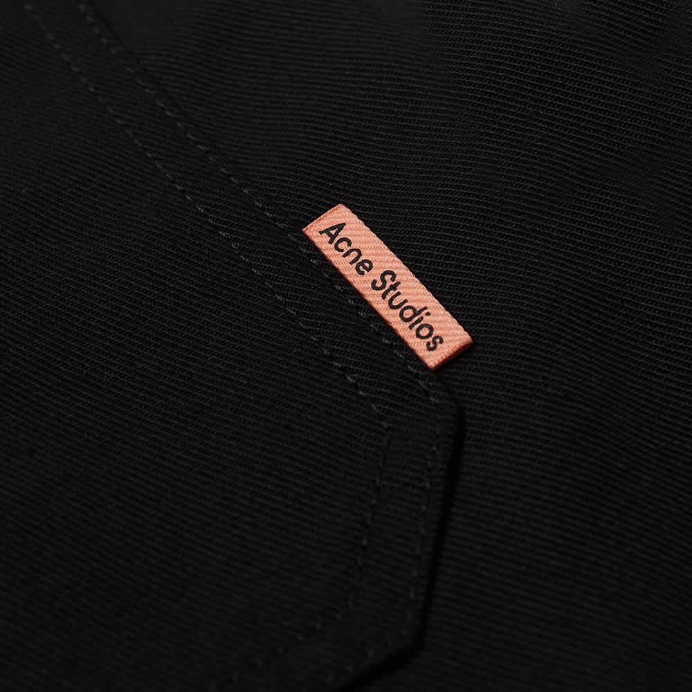 Acne Studios Ringa Twill Pink Label Short - Black