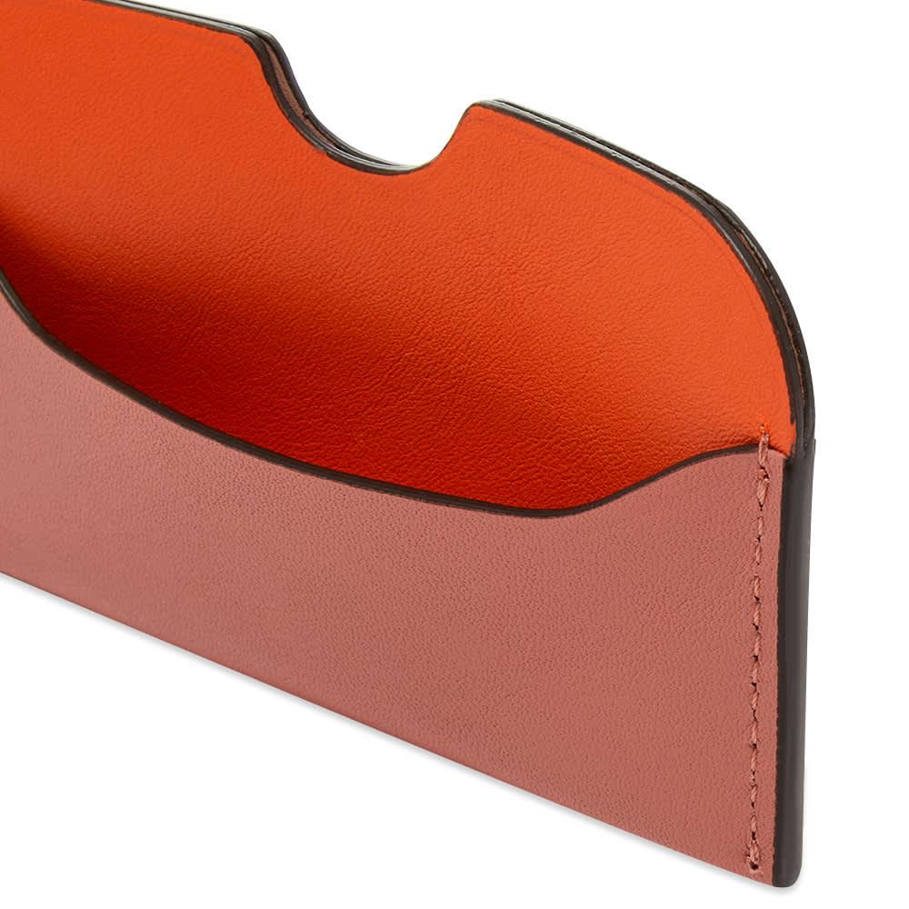 Acne Studios Elmas Colour Card Holder - Multi Pink
