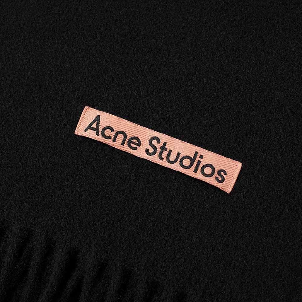 Acne Studios Canada New Scarf - Black