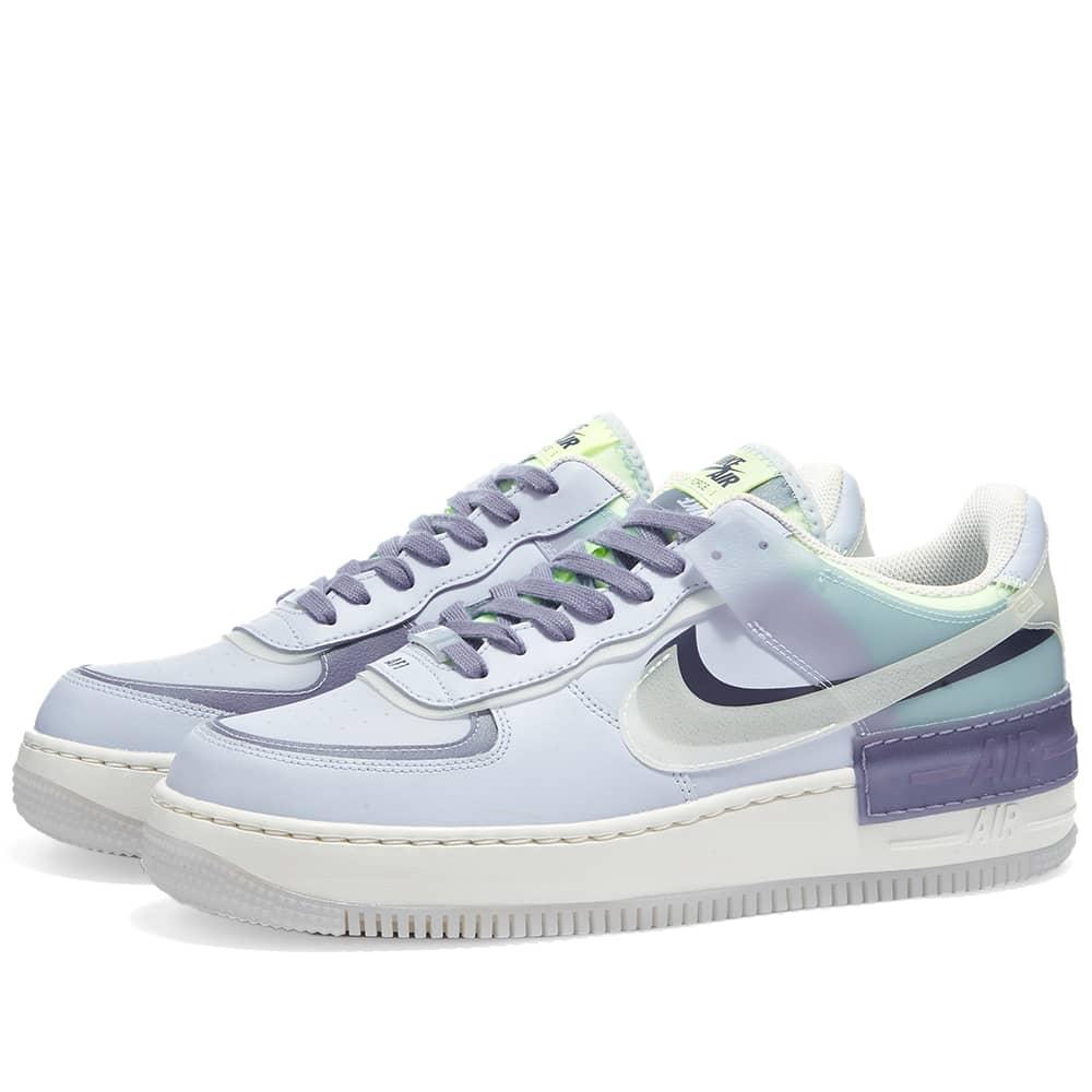 Nike Air Force 1 Shadow Se W Ghost White Indigo End