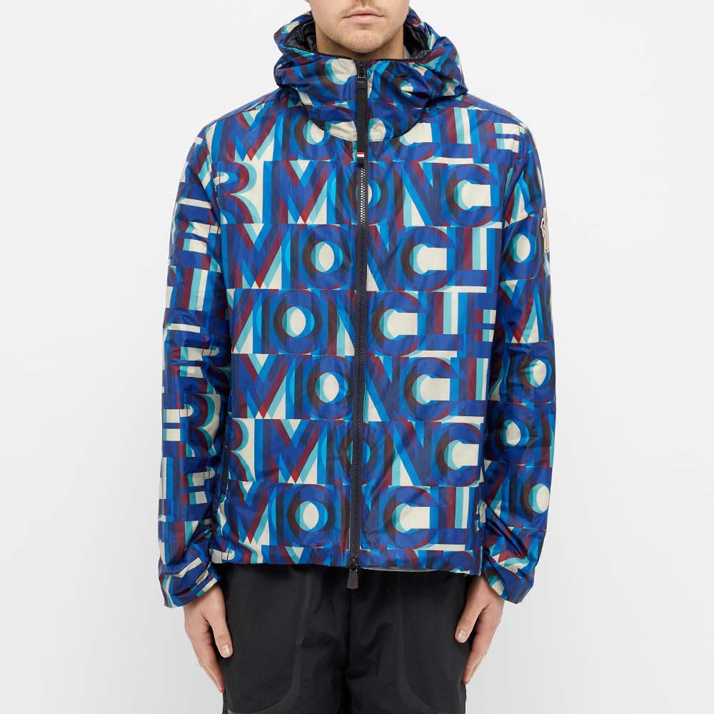 Moncler Grenoble Cillian Logo Jacket - Blue Multi