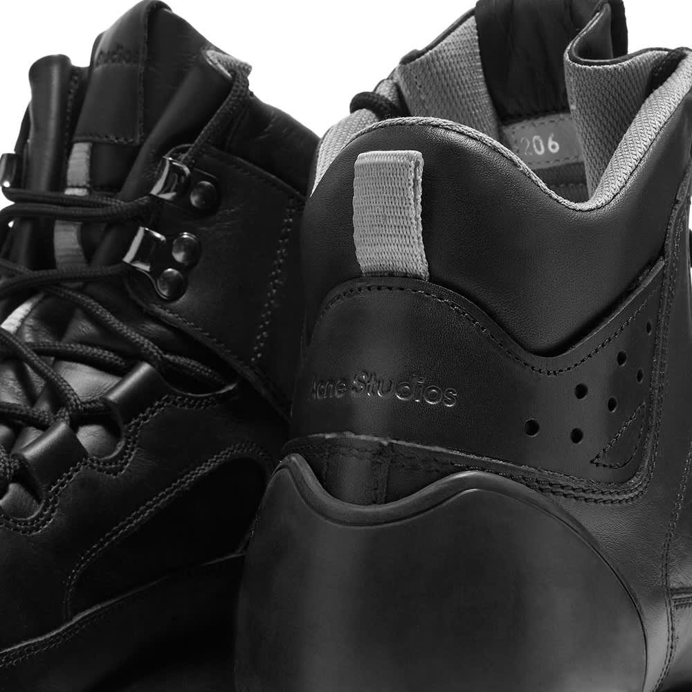 Acne Studios Bertrand Leather M Hiker - Black