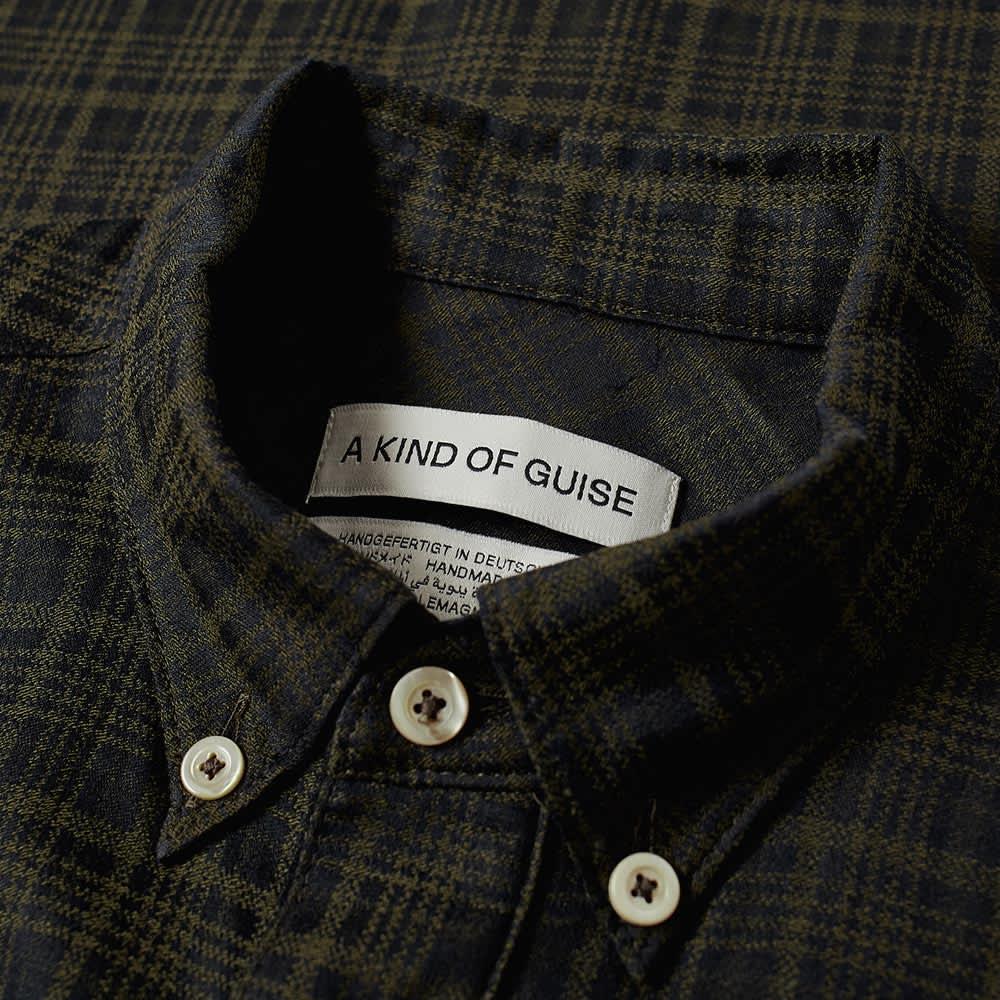 A Kind of Guise Narayan Shirt - Green Check