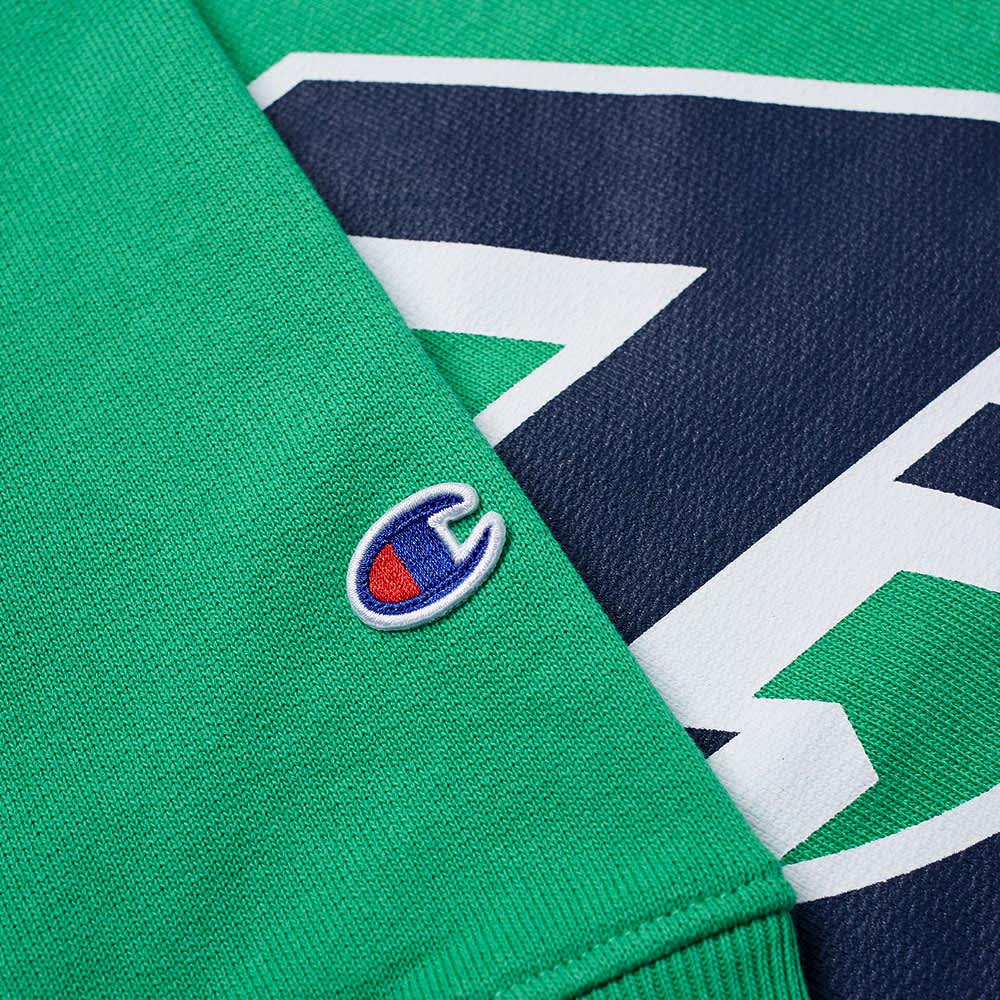 Champion x Beams Popover Hoody - Green