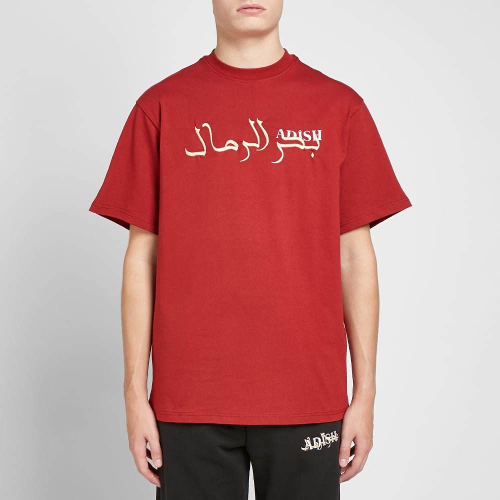 ADISH Arabic Tee - Red