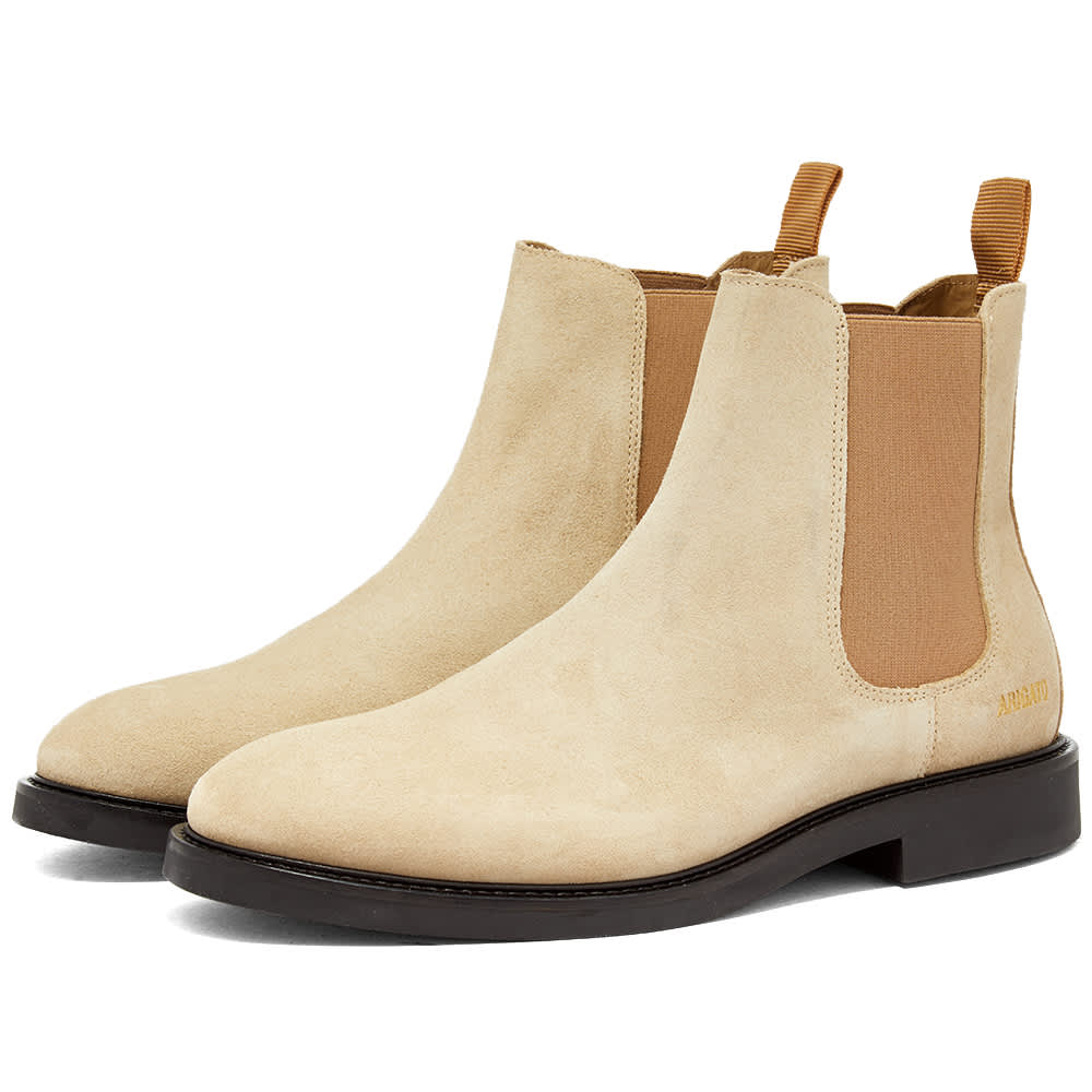 Axel Arigato Suede Chelsea Boot - Sand