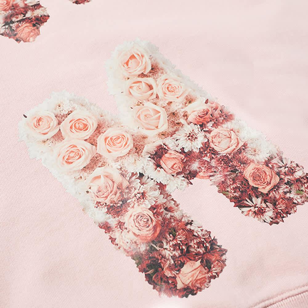 Thames Reborn Flower Crew Sweat - Rose