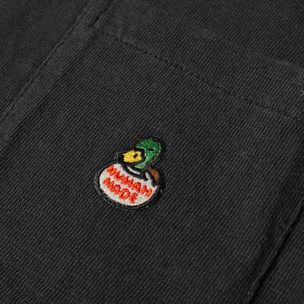 Human Made Duck Pocket Tee - Black