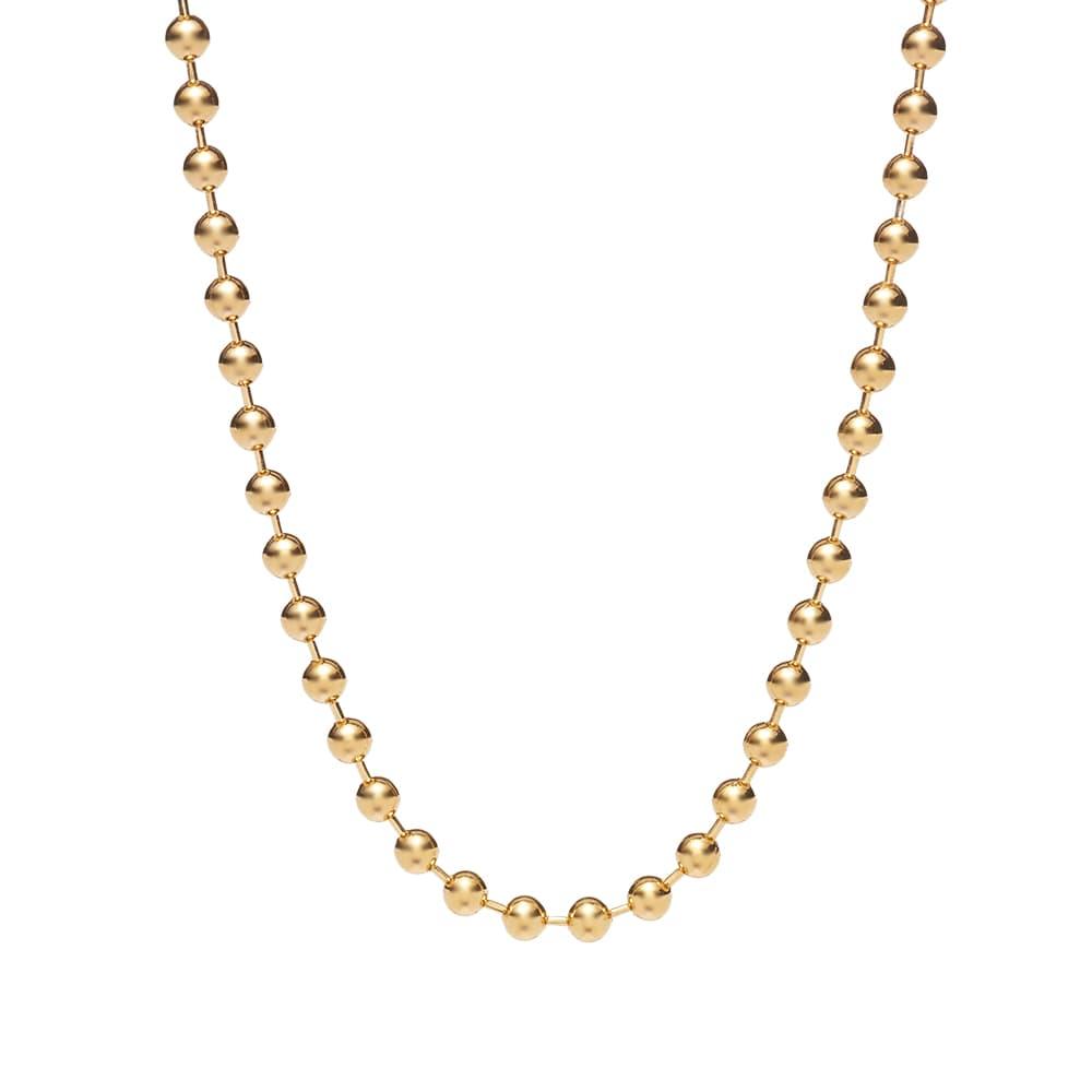 Ambush Ball Chain Choker Necklace - Gold