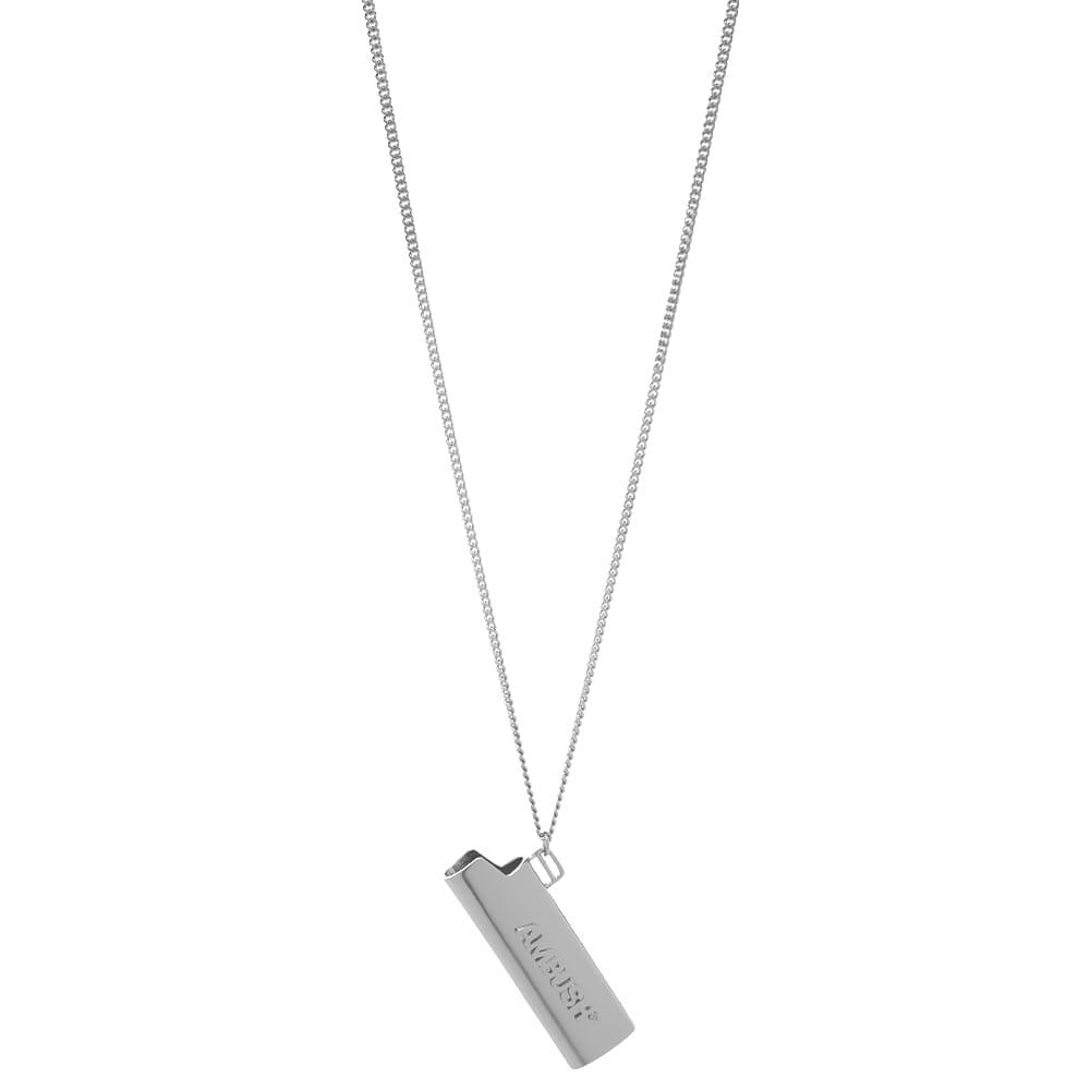 Ambush Logo Lighter Neck Chain - Silver Silve