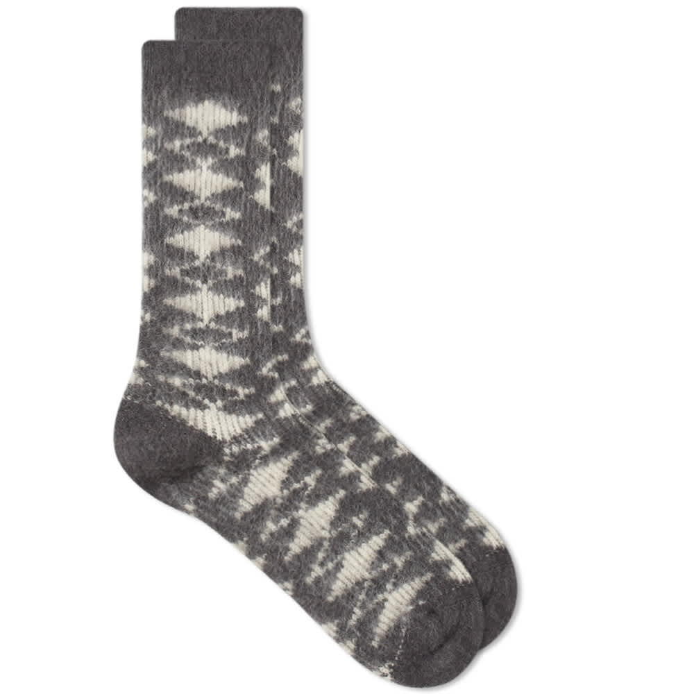 Anonymous Ism Napping Diamond JQ Crew Sock - Medium Grey