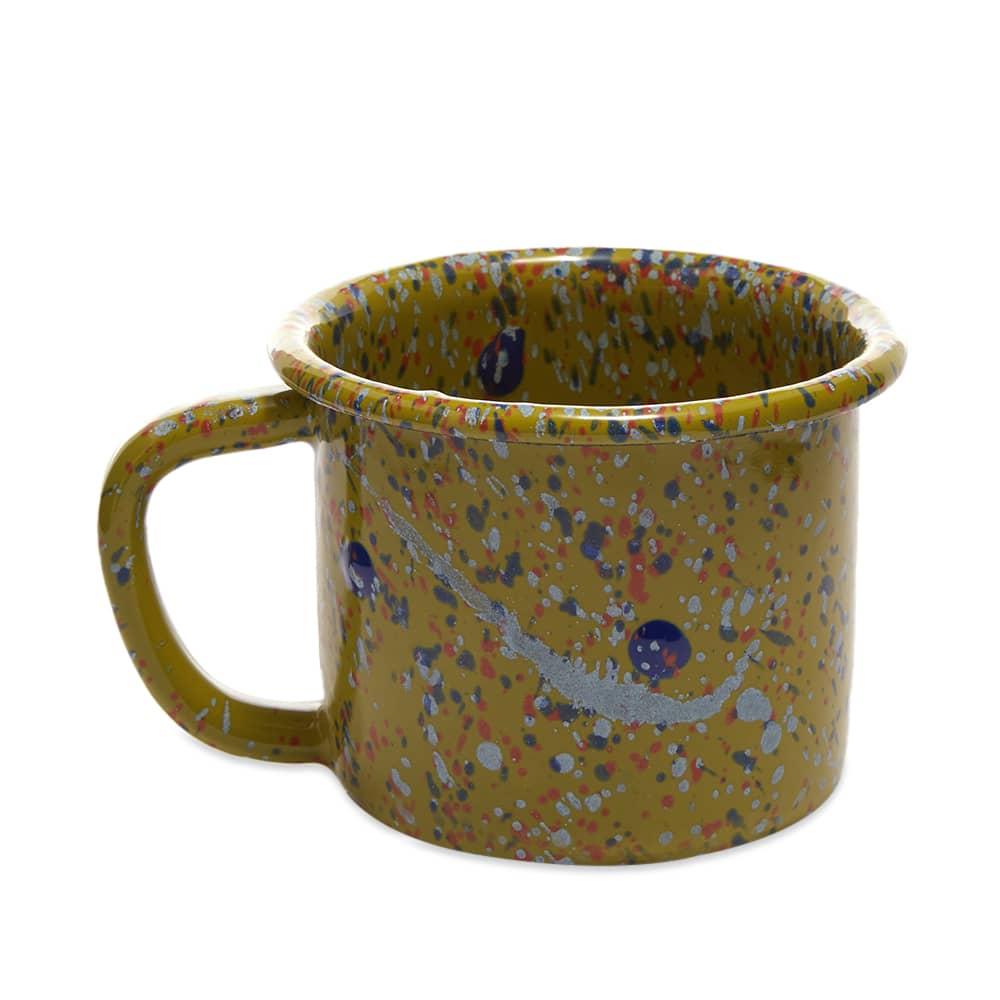 BORNN Enamelware Island Breeze Large Mug 9cm - Lime