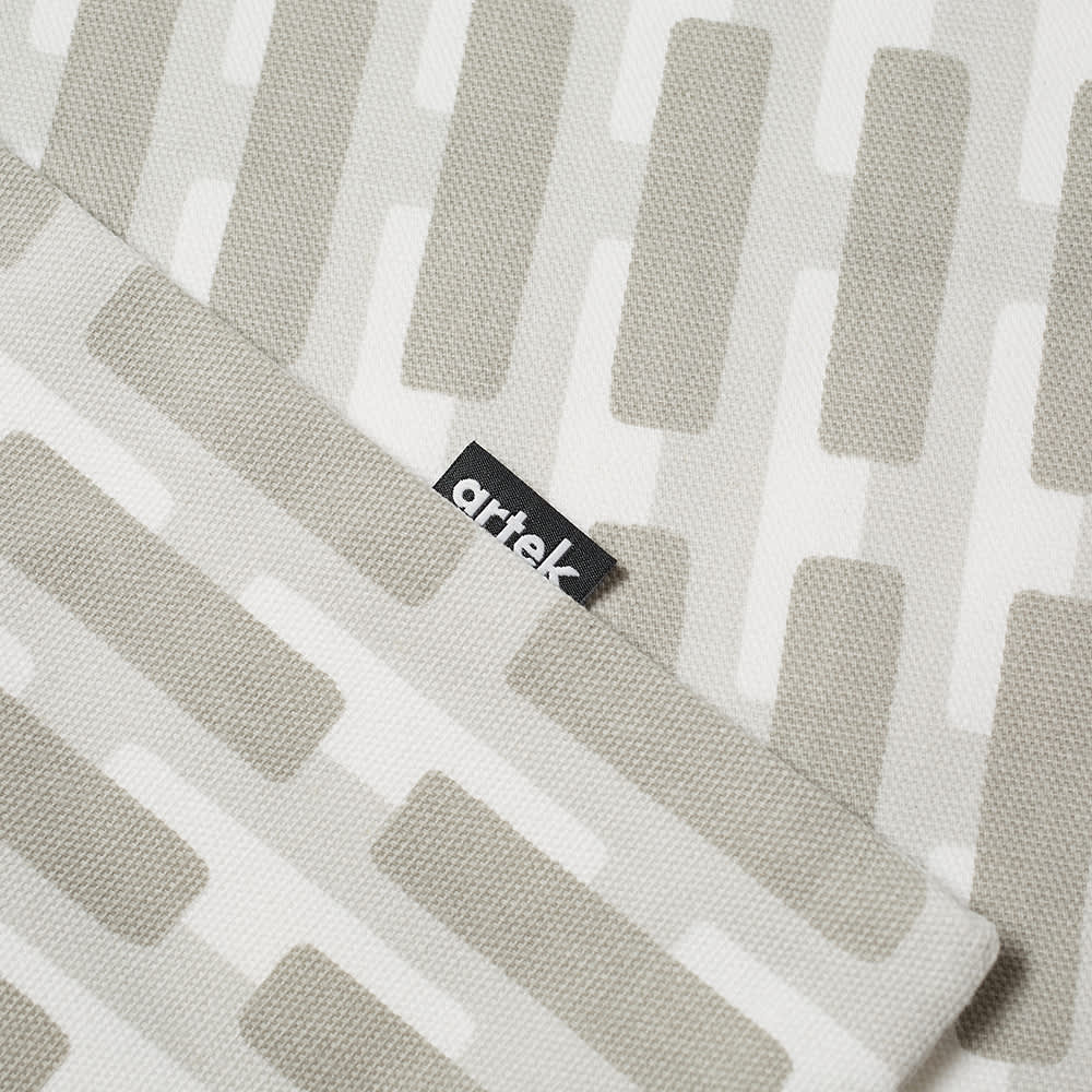 Artek Siena Cushion Cover - Large - Grey & Lightgrey Shadow