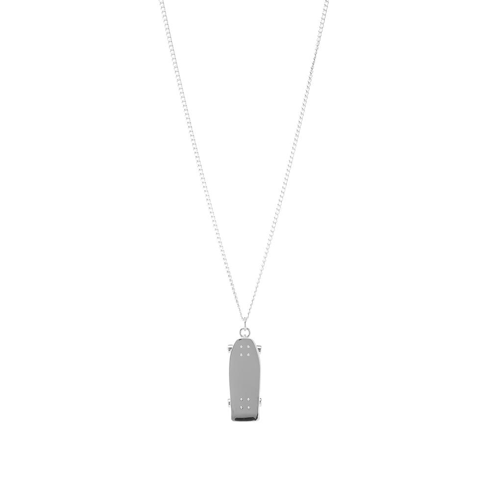 Ambush Skateboard Necklace - Silver