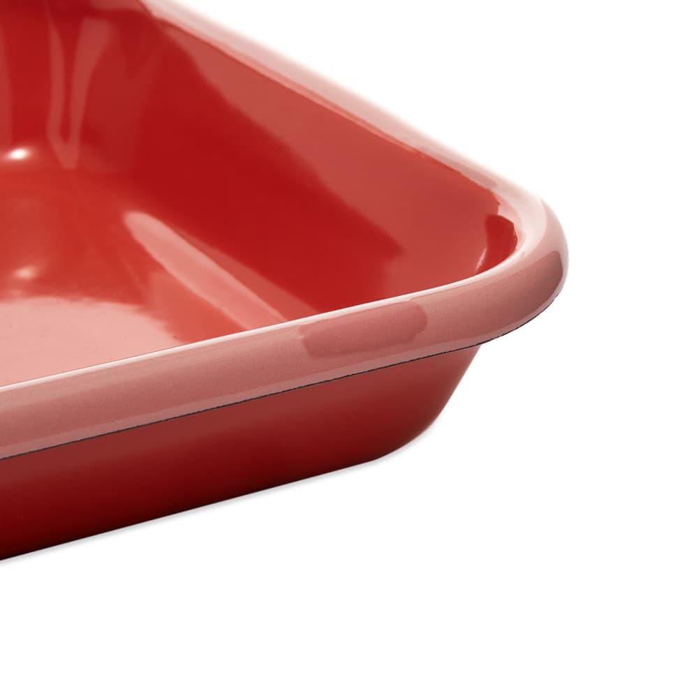 BORNN  Enamelware Colorama Large Baking Dish - Coral & Pink
