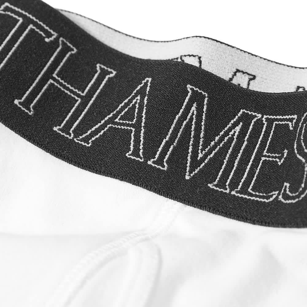 Thames Logo Boxer Short - White