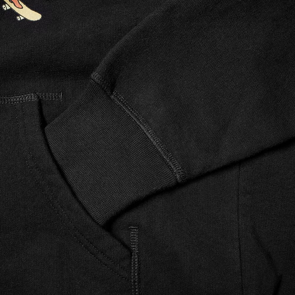 POP Trading Company Joost Swarte Hooded Sweat - Black