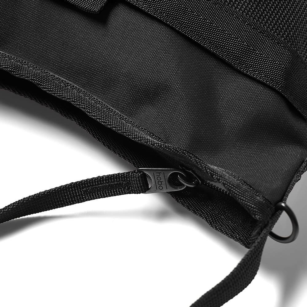 hobo Polyester Sacoche Bag - Black