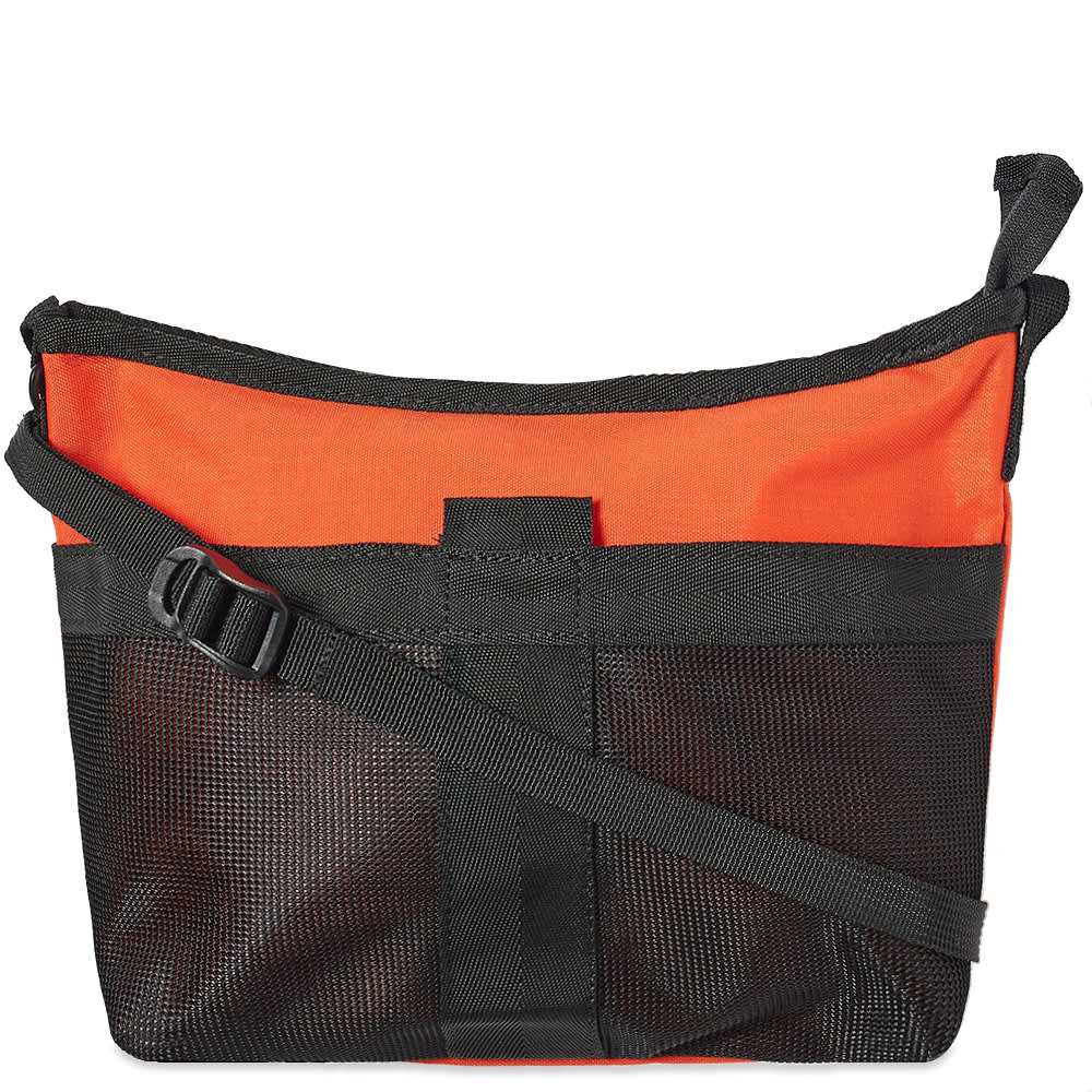 hobo Polyester Sacoche Bag - Orange