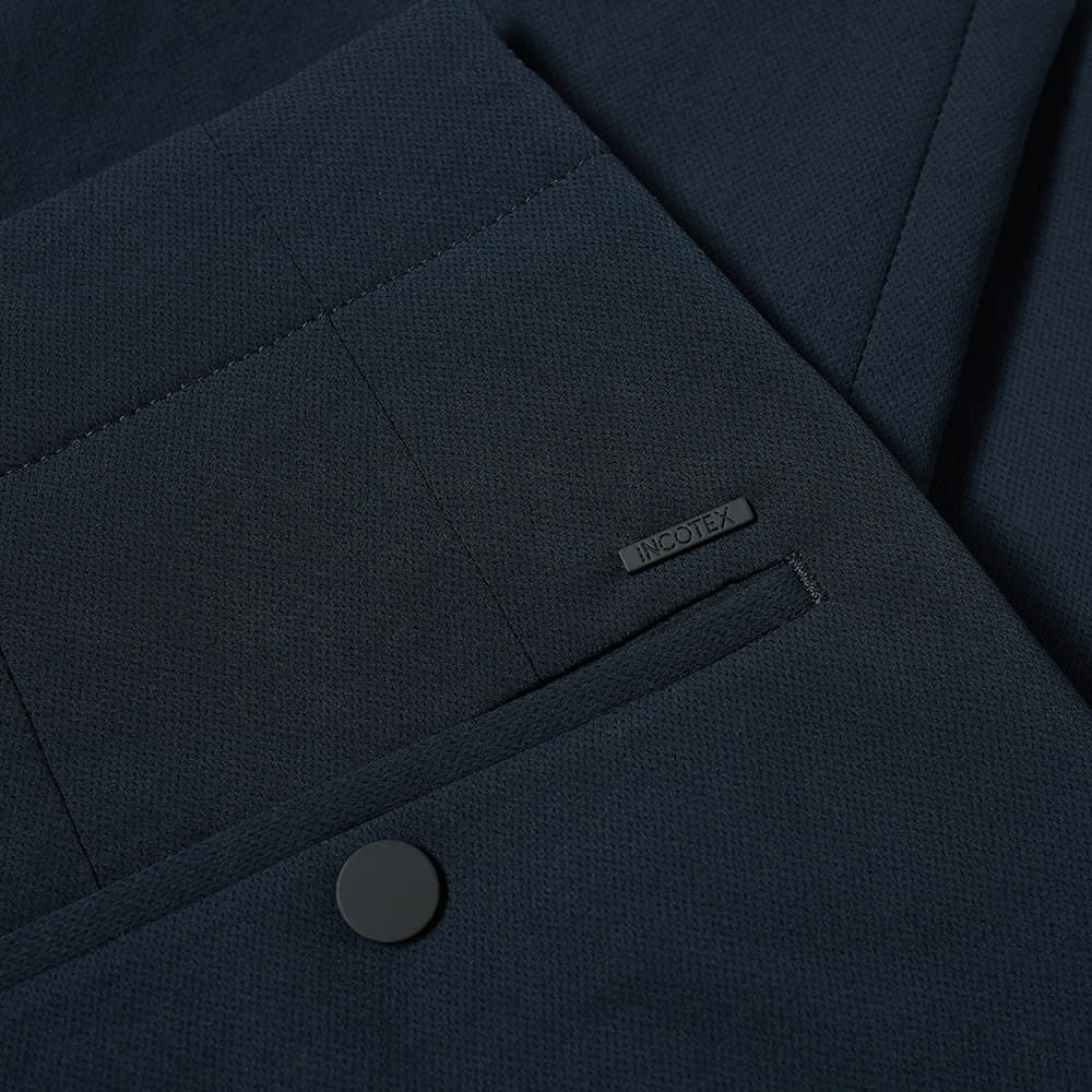 Incotex Magnetic Clasp Travel Pant - Navy