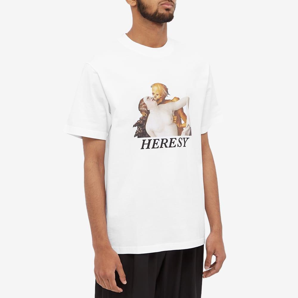 Heresy Love Tee - White