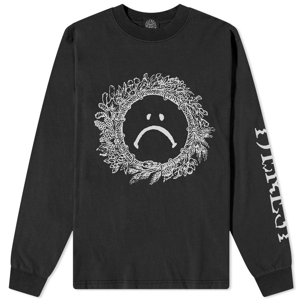 Heresy Long Sleeve Gloom Tee - Black