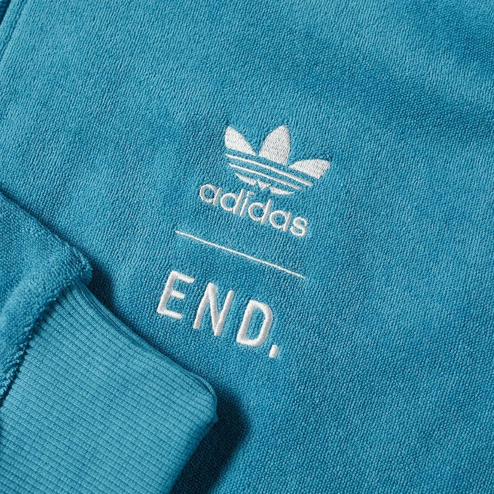 END. x Adidas Tennis Club Track Top - Future Ocean