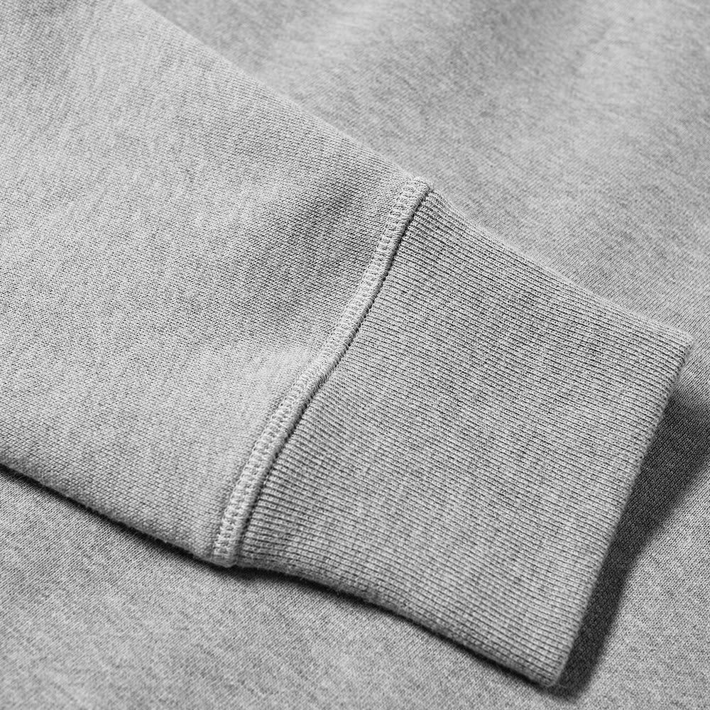 Moncler Grenoble Down Patch Logo Crew Sweat - Grey
