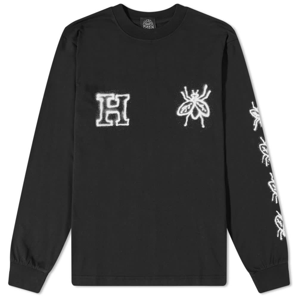 Heresy Long Sleeve Rotten Tee - Black